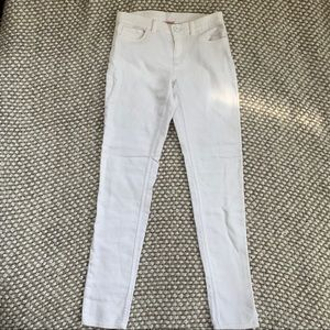 Juicy Couture White Skinny Pants Size 2. F